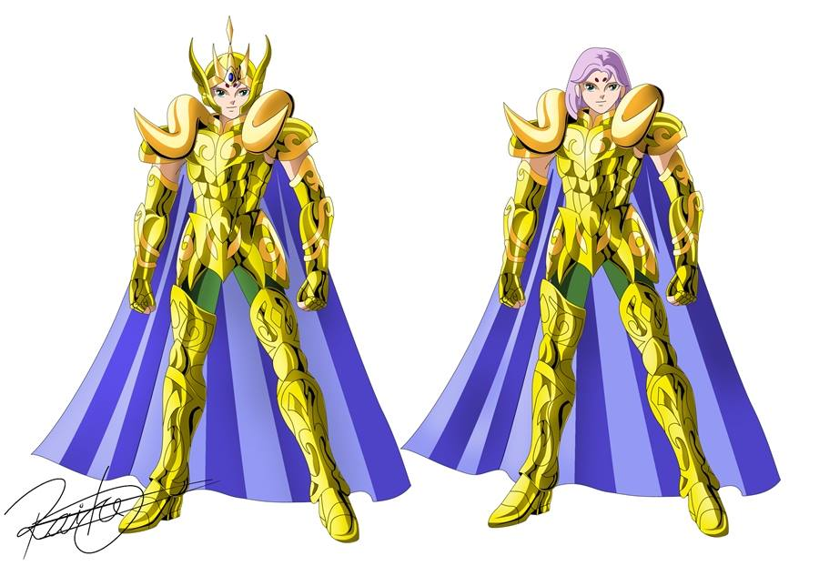 Gold Saints   Existing characters   Fanarts by Lui Rayson ...